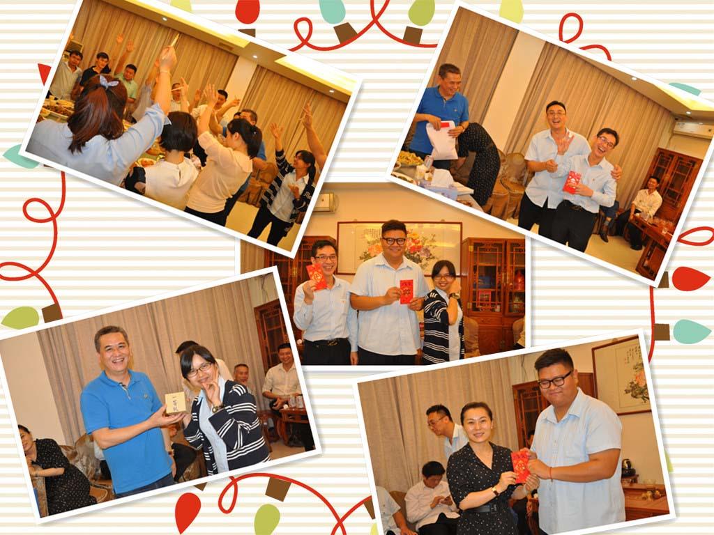东科集团第一届美食汇集活动
