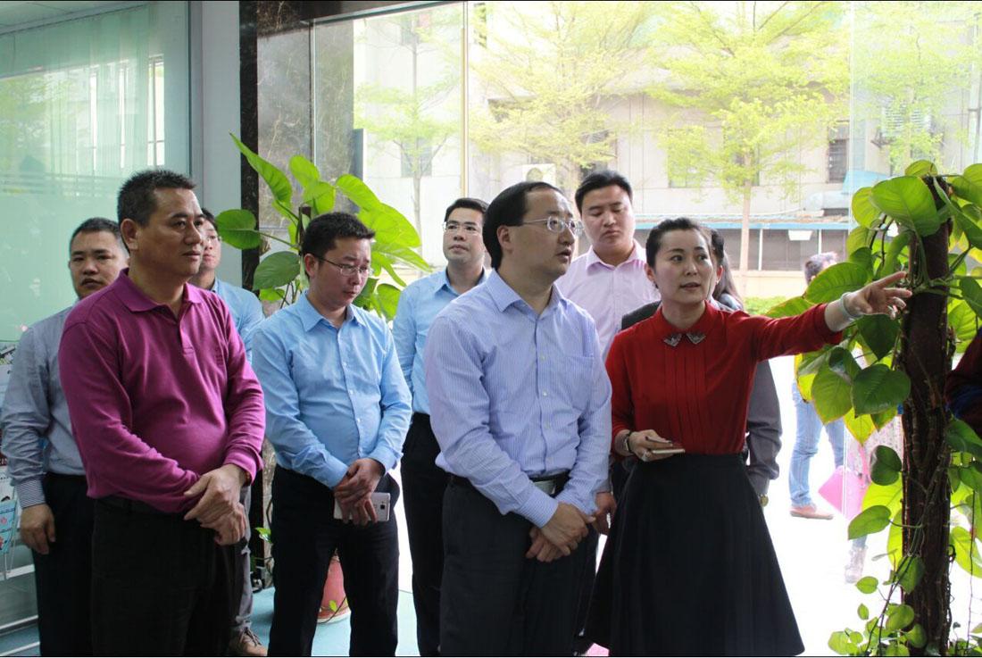 团省委副书记张志华一行莅临常平科技园参观调研
