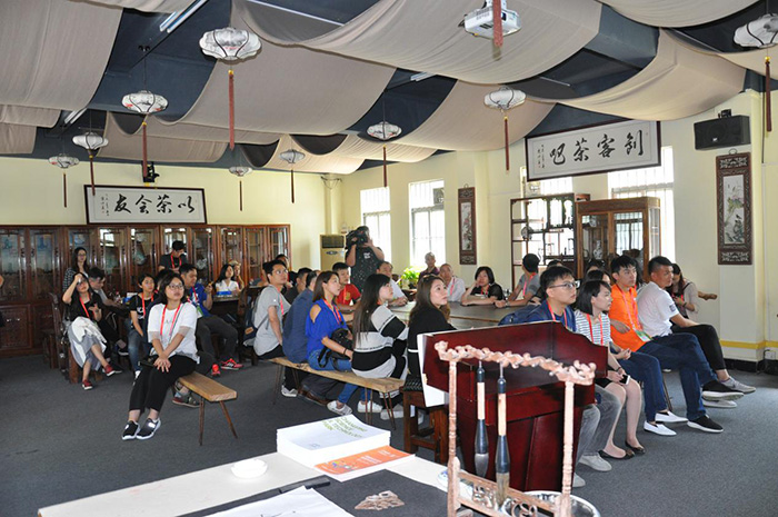 澳门青年创业创新考察团到访东莞市常平科技园