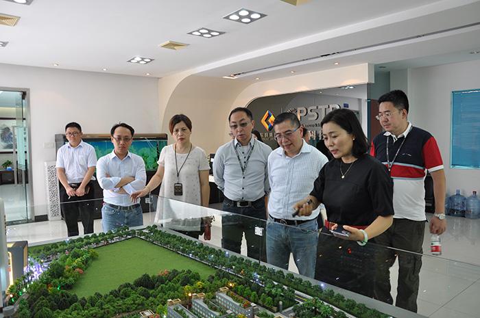 香港冯氏集团利丰采购管理有限公司来访常平科技园(国家级科技企业孵化器)