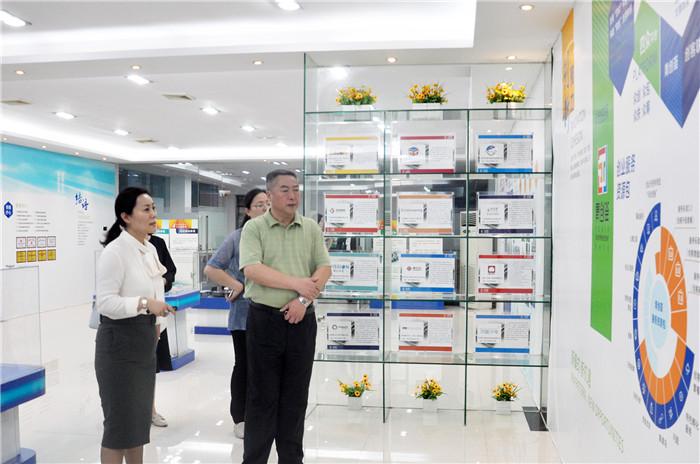 江苏省泰州市新能源产业园区一行莅临东科集团参观交流
