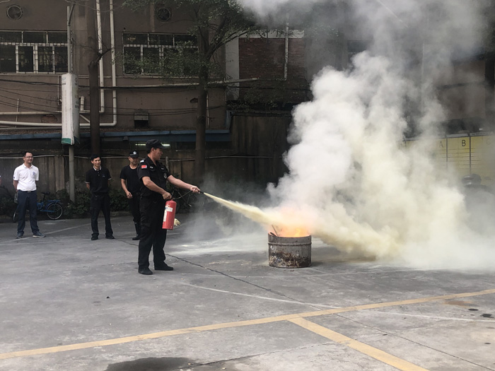 生命重于泰山——常平科技园开展消防安全知识培训及消防演练