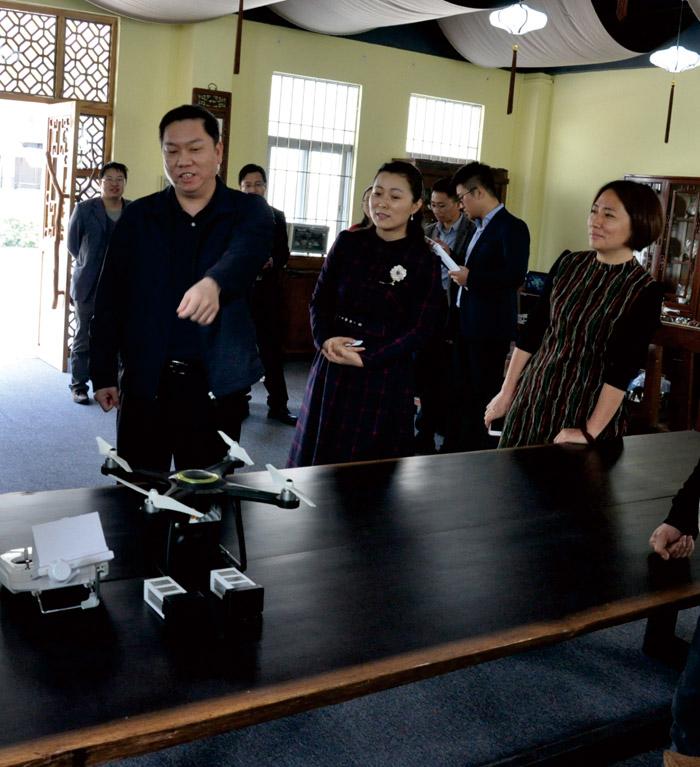 东莞市委常委、市委组织部部长来访