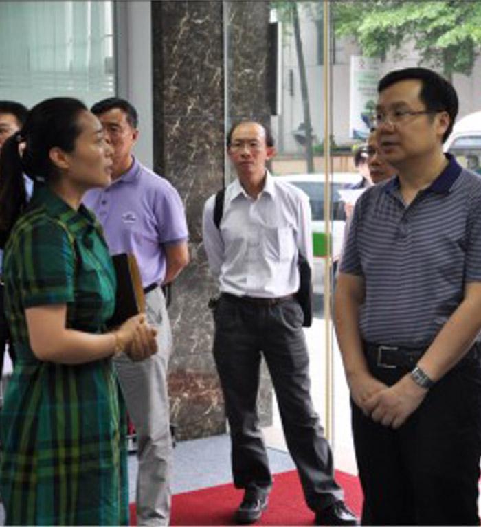 东莞市张科常务副市长来访