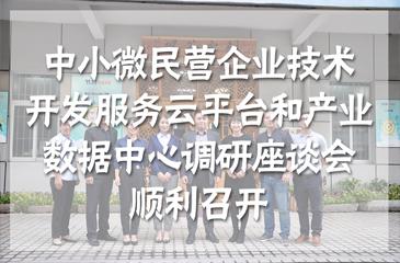 集团动态丨东莞市中小微民营企业的技术开发服务云平台和产业数据中心调研座谈会于常平科技园顺利召开