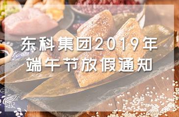 东科集团2019年端午节放假通知