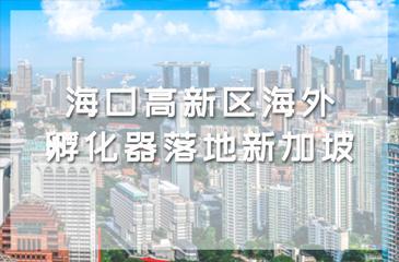 海口高新区海外孵化器落地新加坡